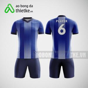 Mẫu in áo bóng đá hà nội màu xanh dương ABDTK4