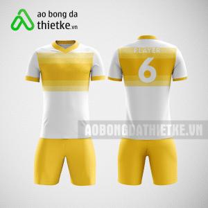 Mẫu in áo bóng đá theo yêu cầu màu vàng ABDTK 3