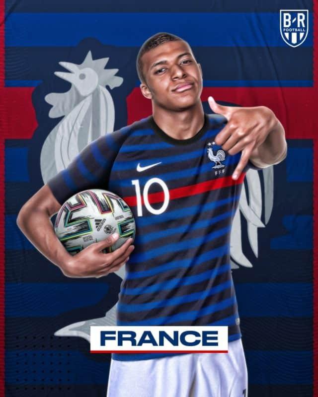 Áo đấu Euro của đội tuyển Pháp