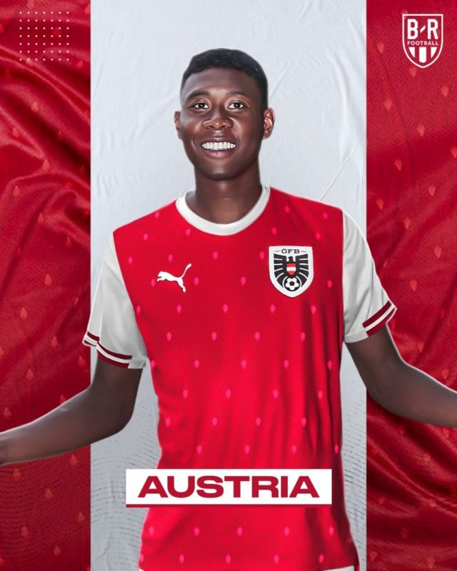 Áo đấu Euro của đội tuyển Áo