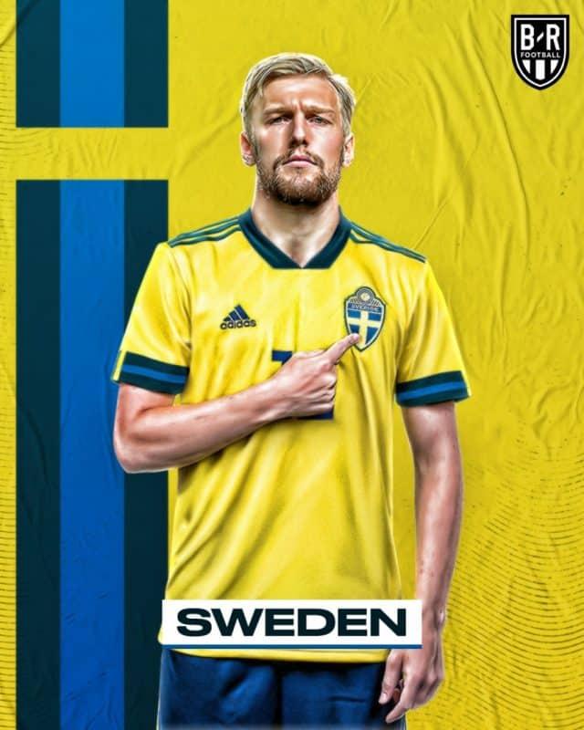 Áo đấu Euro của đội tuyển Thụy Điển