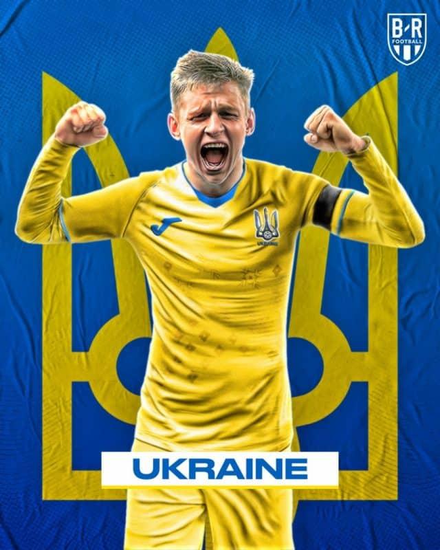 Áo đấu Euro của đội tuyển Ukraina