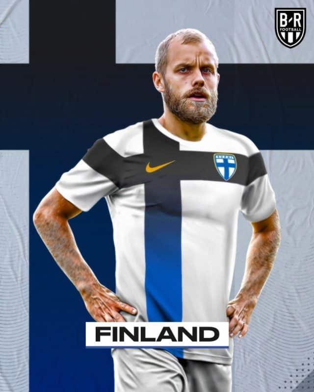 Áo đấu Euro của đội tuyển Phần Lan