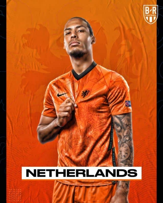 Áo đấu Euro của đội tuyển Hà Lan