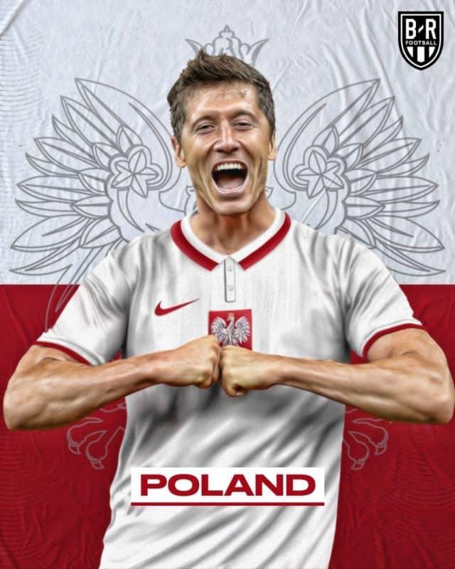 Áo đấu Euro của đội tuyển Ba Lan
