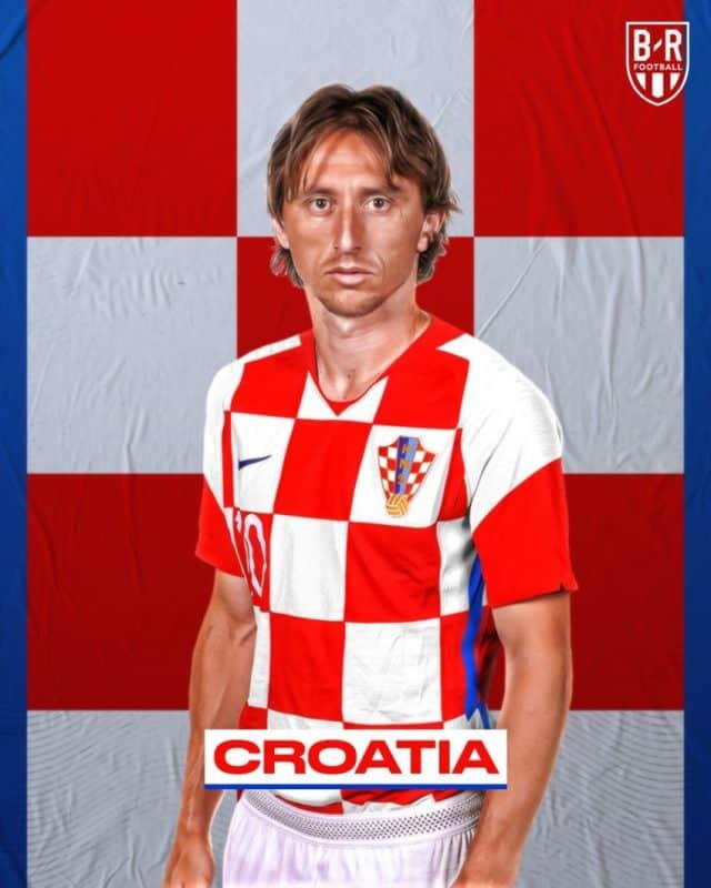 Áo đấu Euro của đội tuyển Croatia