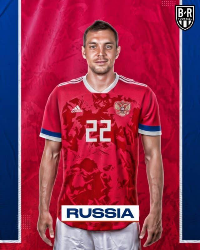 Áo đấu Euro của đội tuyển Nga
