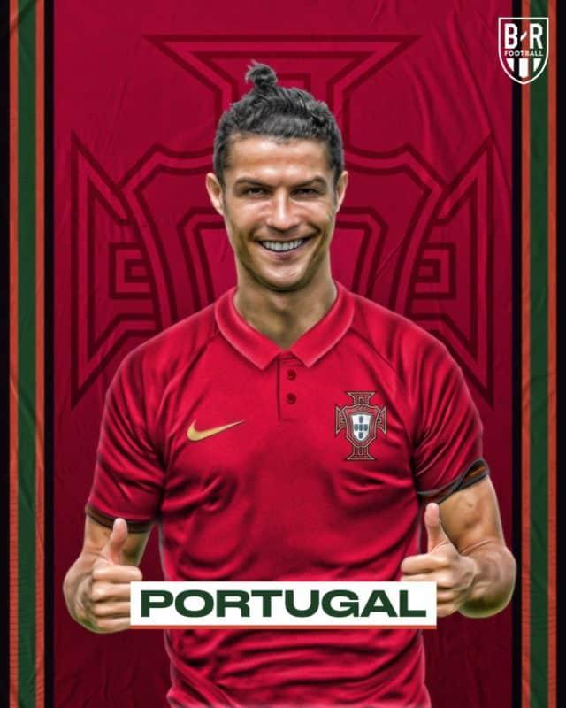 Áo đấu Euro của đội tuyển Bồ Đào Nha