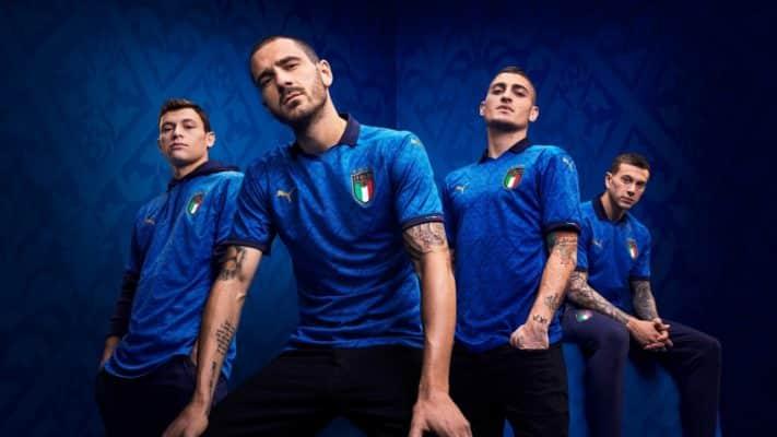 Đội tuyển Ý ra mắt áo đấu chính thức cho Euro 2021