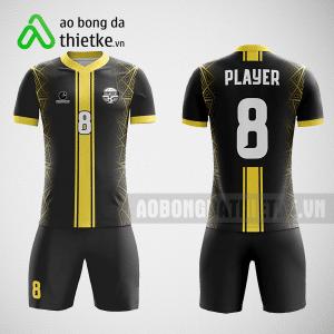 Mẫu áo bóng đá thiết kế màu vàng đen ABDTK219