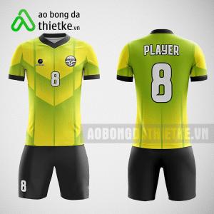 Mẫu áo bóng đá thiết kế màu vàng đen ABDTK228