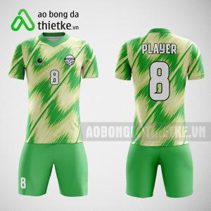 Mẫu áo bóng đá thiết kế màu xanh lá ABDTK222