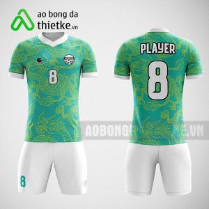 Mẫu áo bóng đá thiết kế màu xanh trắng ABDTK232