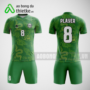 Mẫu áo bóng đá thiết kế màuxanh ABDTK225