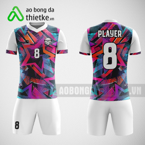 Mẫu áo bóng đá thiết kế tập đoàn hoa sen ABDTK199