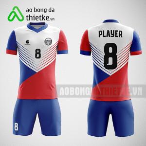 Mẫu áo đá bóng thiết kế học viện biên phòng ABDTK323