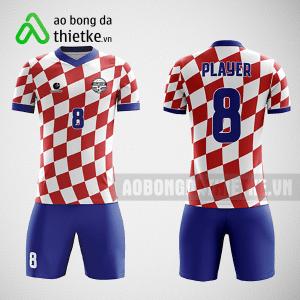 Mẫu áo bóng đá thiết kế Trường THPT Đông Anh ABDTK616