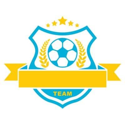 Mẫu logo đội đá banh, bóng đá thiết kế đẹp nhất (21)