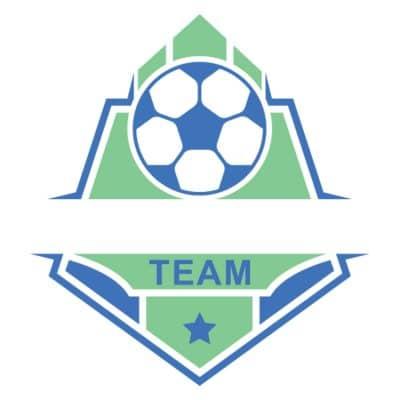 Mẫu logo đội đá banh, bóng đá thiết kế đẹp nhất (23)