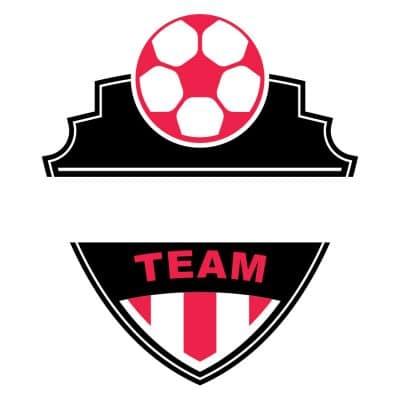 Mẫu logo đội đá banh, bóng đá thiết kế đẹp nhất (26)