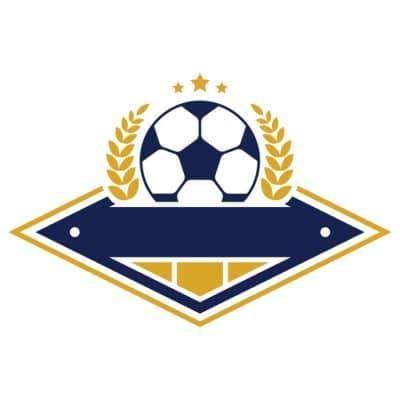 Mẫu logo đội đá banh, bóng đá thiết kế đẹp nhất (28)