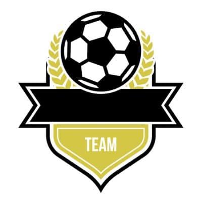 Mẫu logo đội đá banh, bóng đá thiết kế đẹp nhất (30)