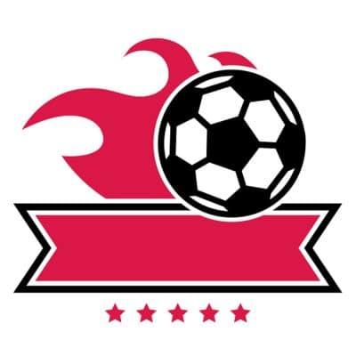Mẫu logo đội đá banh, bóng đá thiết kế đẹp nhất (33)