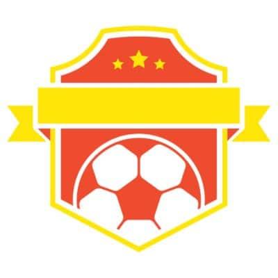 Mẫu logo đội đá banh, bóng đá thiết kế đẹp nhất (37)