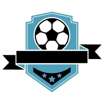 Mẫu logo đội đá banh, bóng đá thiết kế đẹp nhất (39)