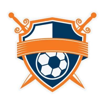 Mẫu logo đội đá banh, bóng đá thiết kế đẹp nhất (6)